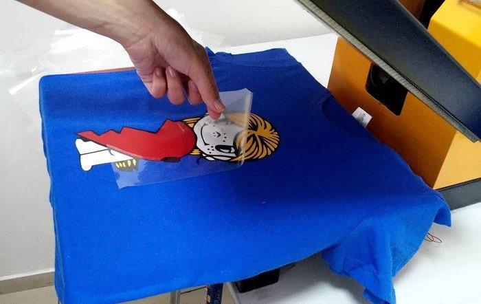 Изготовление термотрансферной печати для рекламы